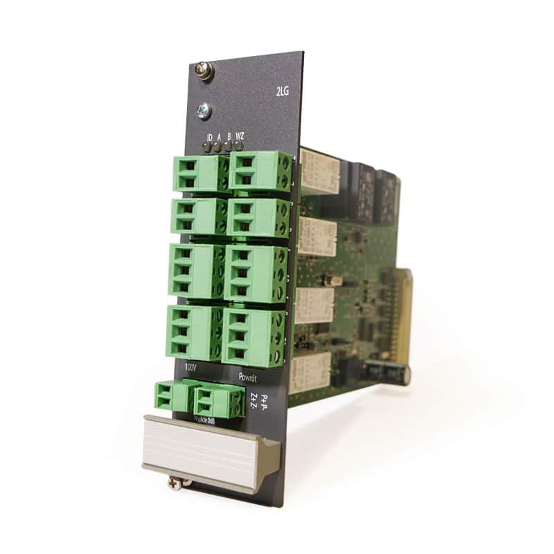 2LG- модуль 2 линий громкоговорителей