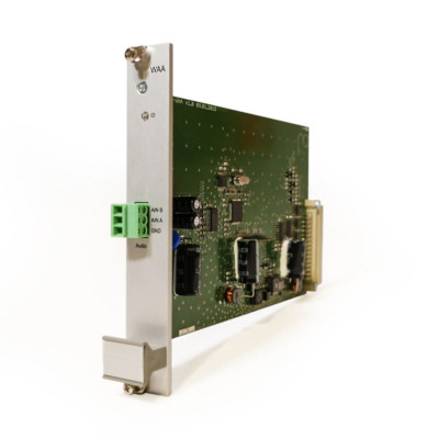 WAA – audio signal input card