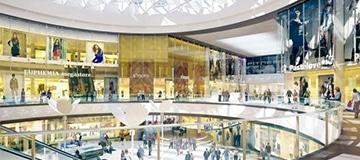 Galaxy Shopping Mall in Szczecin – Design Consulting