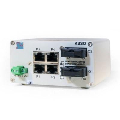 Konwerter światłowodowy systemu sieciowego KSSO