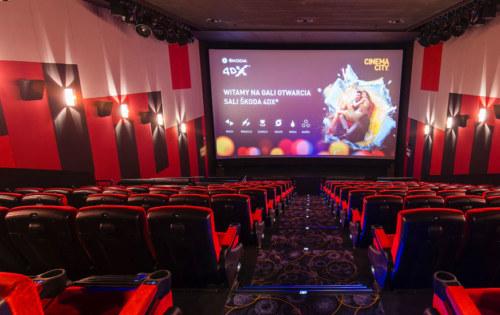 Cinema City – centrum handlowe focus – kino – instalacja systemu DSO IVO inagłośnienia