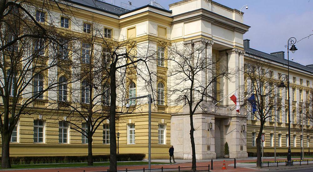 Gmach kancelarii Prezesa Rady Ministrów – instalacja sytemu DSO IVO