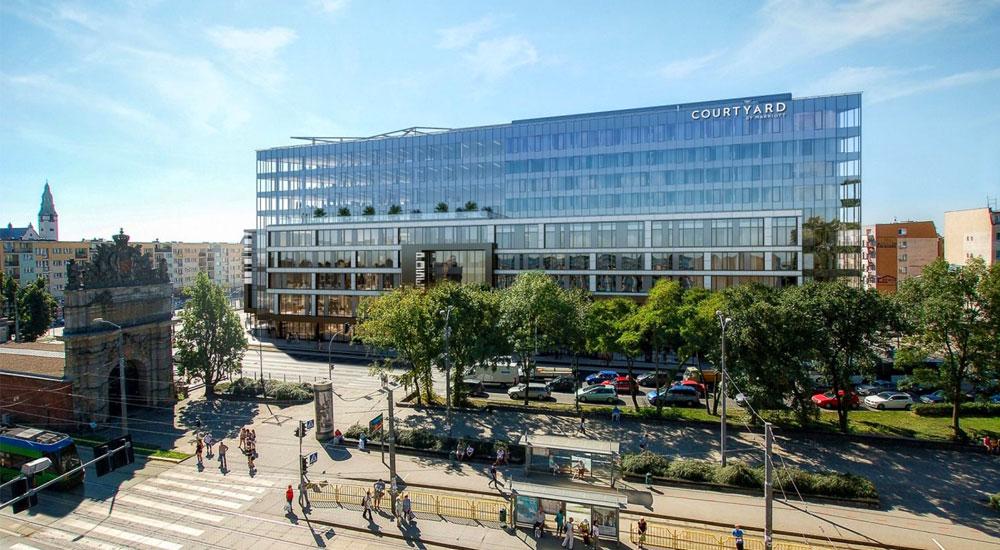 Posejdon Center – część biurowa ihotelowa obiektu