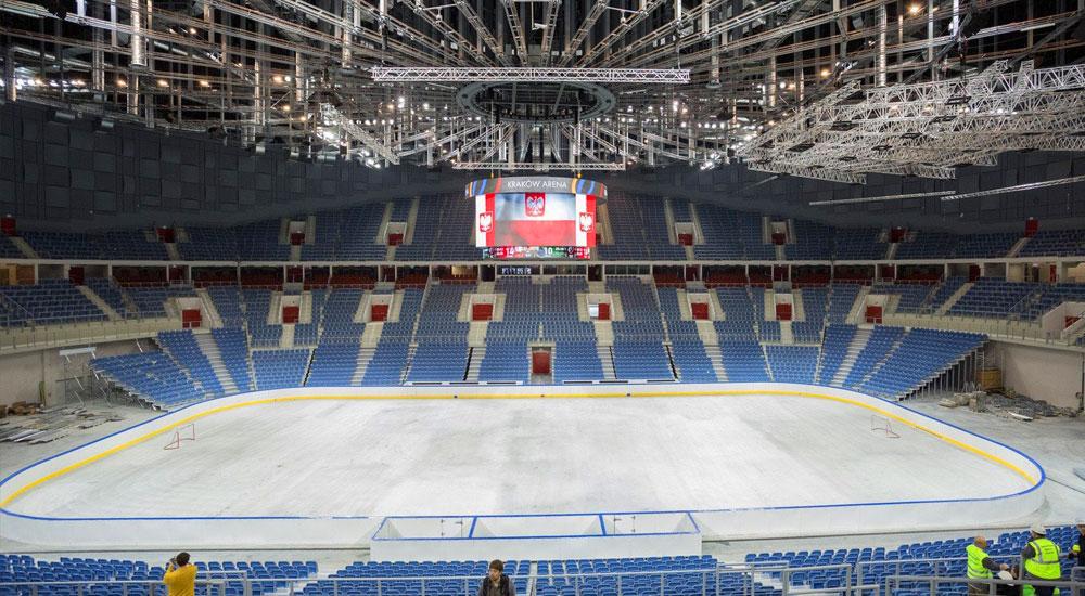 Tauron Arena – hala widowiskowo-sportowa – doradztwo projektowe