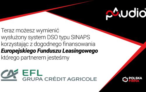 Wymiana systemu DSO typu SINAPS woparciu ofinansowanie zfunduszu EFL
