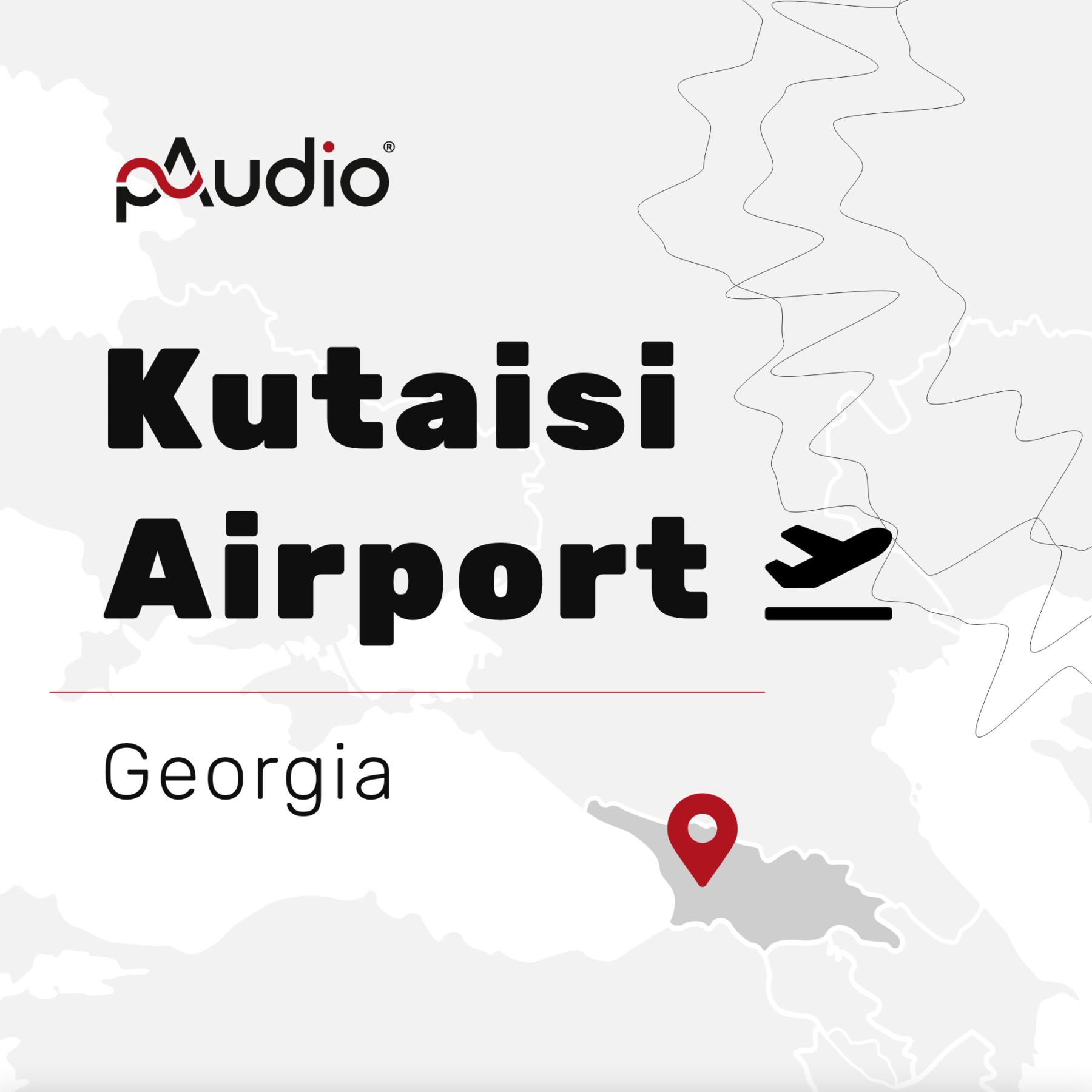 Kutaisi Airport Gruzja – instalacja systemu DSO IVO II  inagłośnienia nalotnisku wGruzji